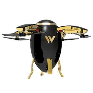 Oasics Drone quadricoptère 2,4 G WIFI FPV Rugby UAV RC avec caméra HD 720P Taille : 5,8 x 6,7 x 10 cm Produktgröße: 5,8 x 6,7 x 10 cm Noir