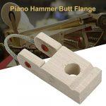 Beesuya Lot de 10 Accessoires pour Piano Bride de tête du Marteau du Piano Accessoires du Plateau de la Corde Pièces de Rechange de réparation DIY