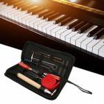 Piano Tuner Trousse à Outils Réglage Entretien Réparation Outils Universels Kit D'Entretien Accessoires 13pcs Clé à Tournevis Marteau Avec Etui