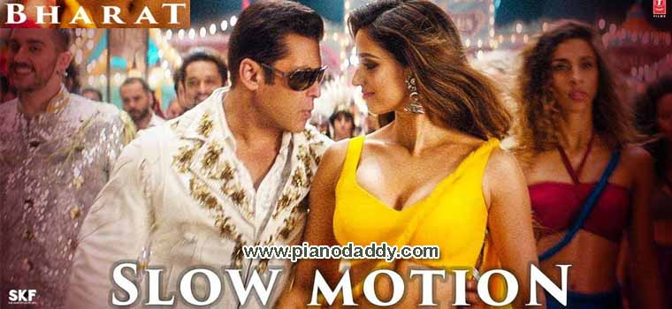 Slow Motion Bharat Piano Notes Piano Daddy
