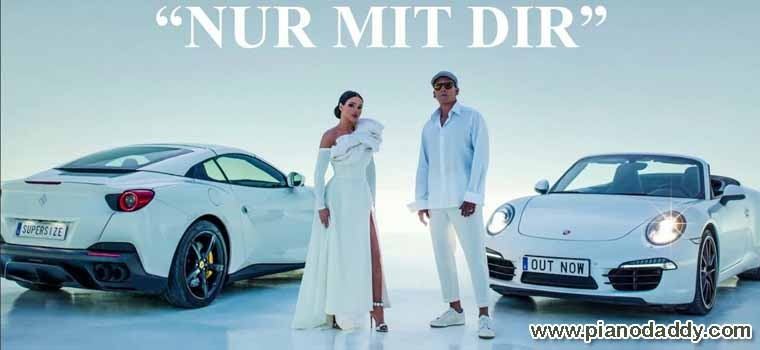 Nur mit Dir (Shirin David, Xavier Naidoo) Piano Notes