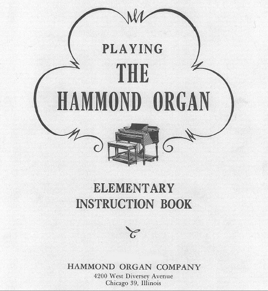 Vintage Hammond Organ Parts and Accessaries