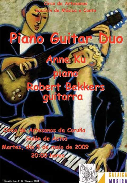Concert at El Circulo Artesano in La Coruña, Spain