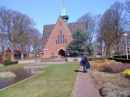 Church in Bennebroek, Netherlands