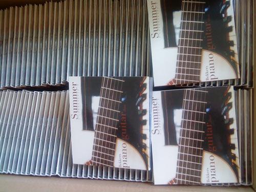 Bekkers Piano Guitar Duo CD Summer