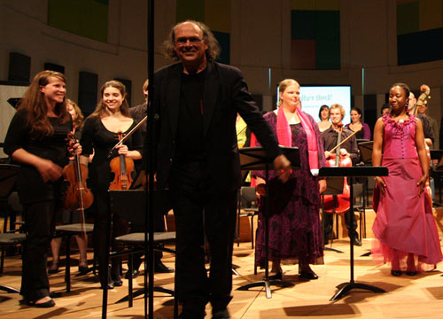 "Henk Alkema conducted ""Culture Shock!"" at Utrecht Conservatory, 2 June 2008"
