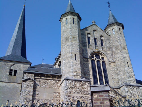 A church in Limburg, Netherlands