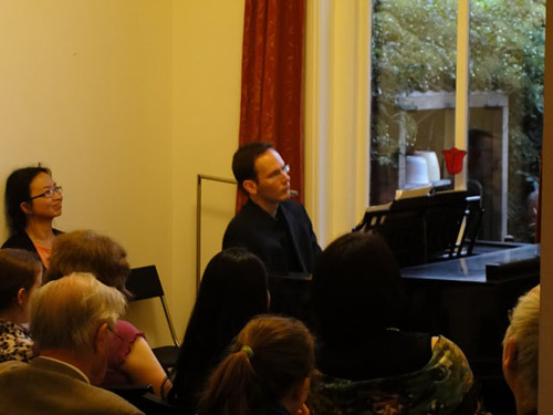 Brendan Kinsella gives virtuosic performance. Photo: Willem de Vriend