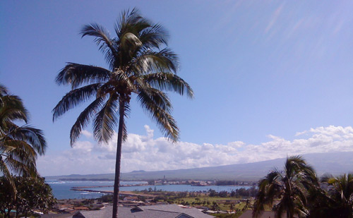 Balcony view of Maui Arts Cultural Center