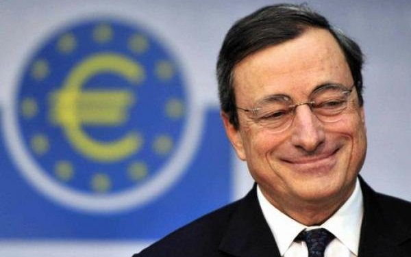 Streaming conferenza stampa BCE: Draghi mantiene fermi i tassi euro