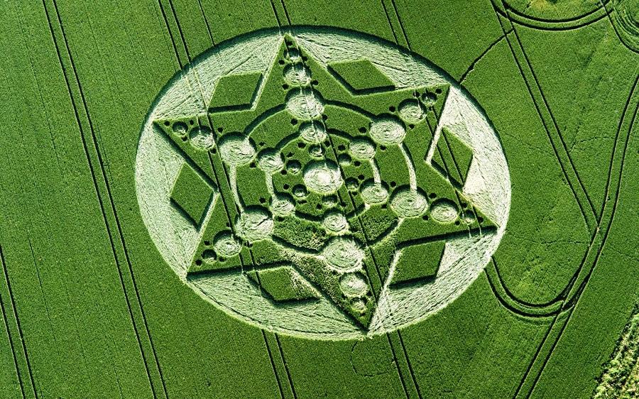 Droni nei campi di grano