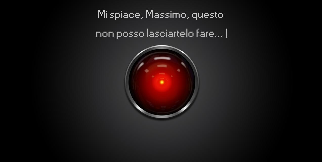 Il mio nome è Hal, Fin-Hal