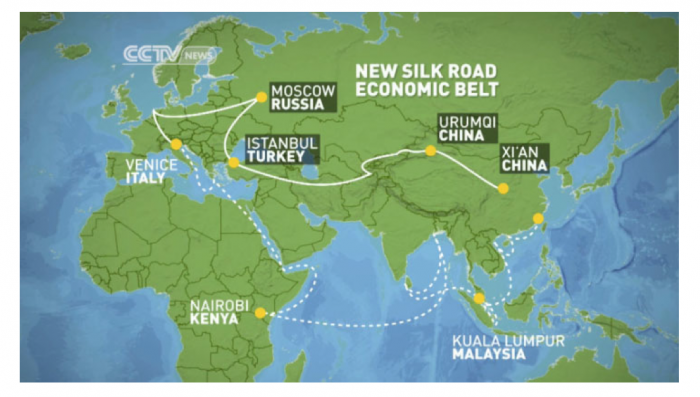 Connessioni terrestri: One Belt, One Road
