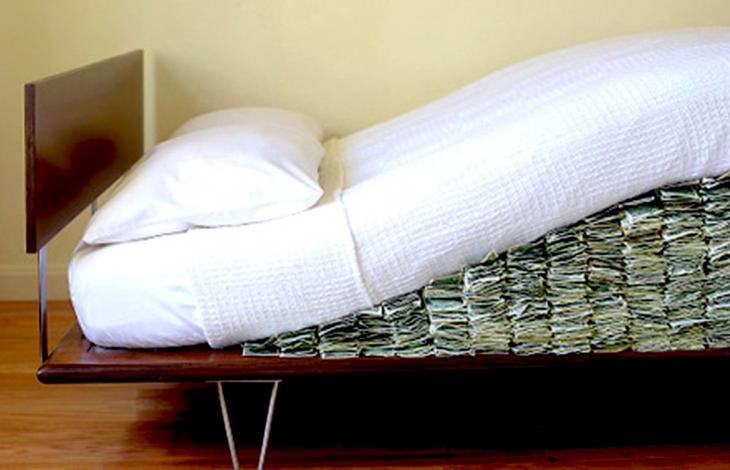 I tassi negativi e la concorrenza del materasso