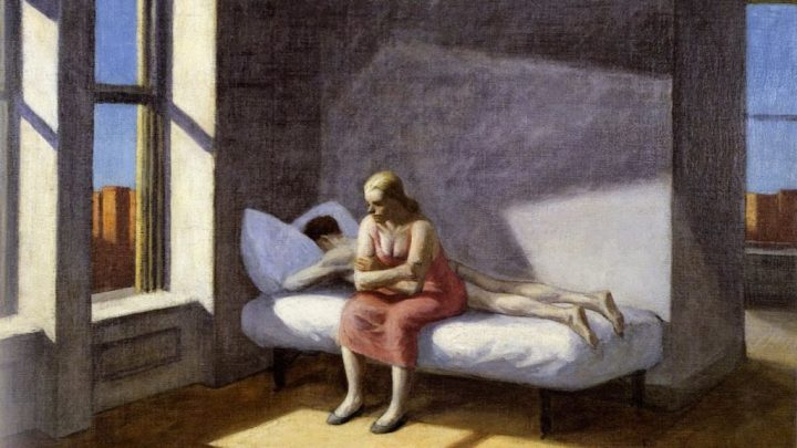 Hopper summer in the city