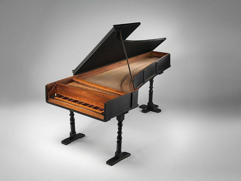 Piano de Cristofori. Primeros pianos construidos.