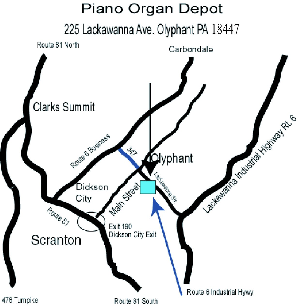 Directions-To-Piano-Depot-Store