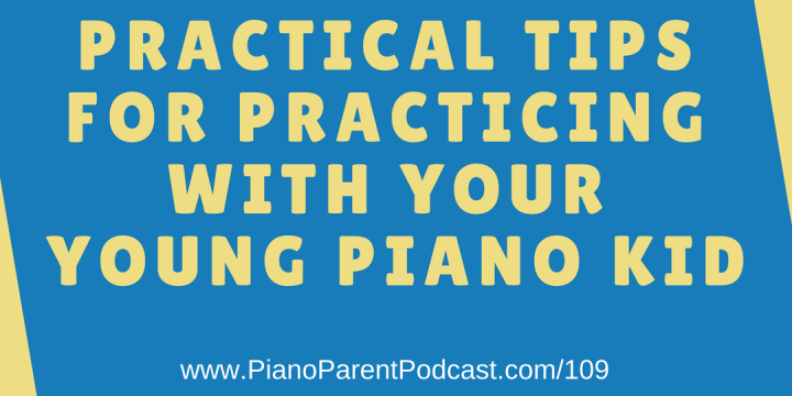 Piano Parent Podcast - Helping parents and their children make the