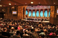 Orpheum Audience, Piano Pinnacle and Vancouver Symphony Orchestra