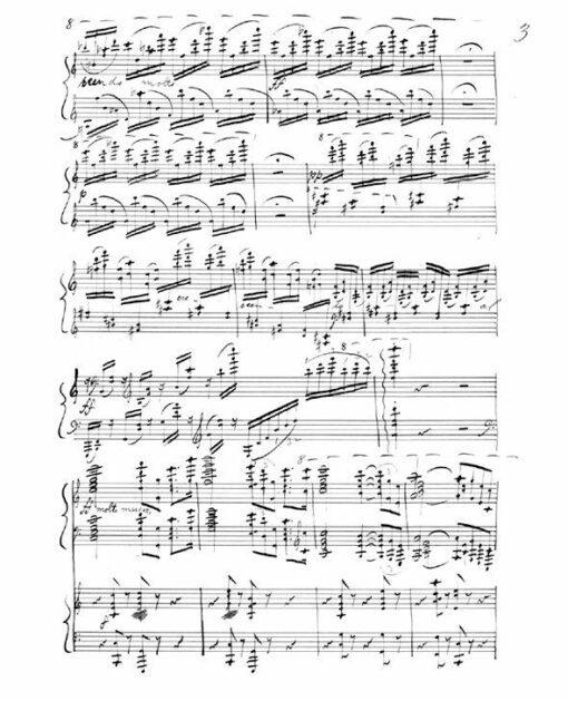 Hjalmar Borgstrom Poetische Tonbilder Piano Concerto sheet