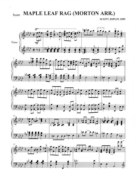 Maple Leaf Rag Sheet Music