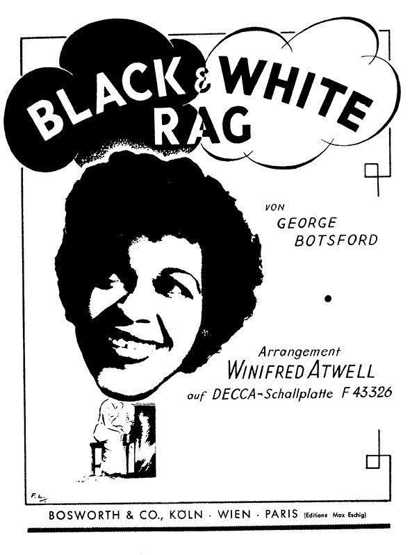 Winifred Atwell rags boogie-woogie sheet music