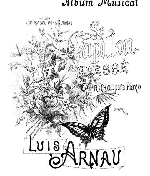 Luis Arnau Impromptu Nocturno Romanza Mazurkas sheet music