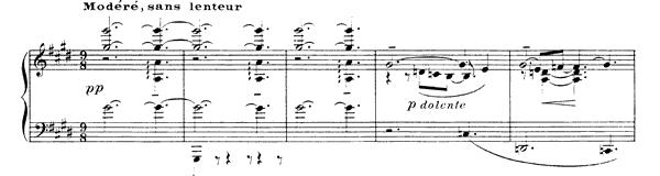 Debussy: La plus que lente in G-flat Major