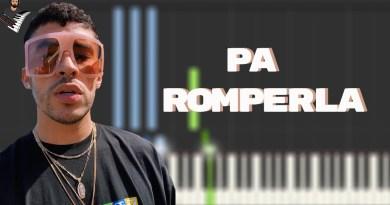 PA' ROMPERLA - Bad Bunny x Don Omar | Las Que No Iban A Salir