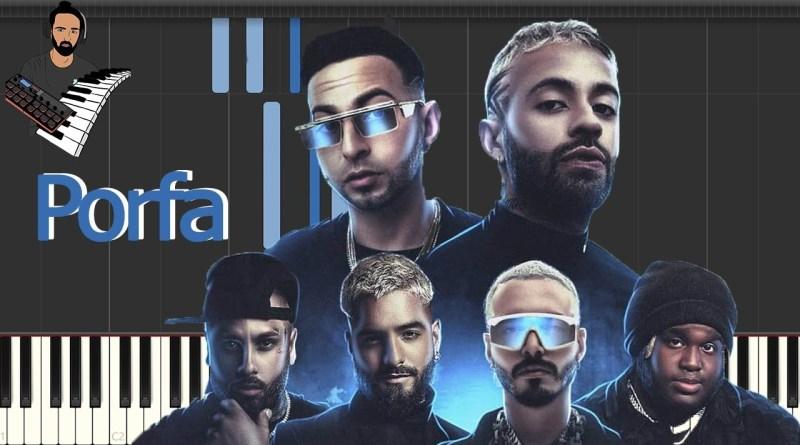 Feid, Justin Quiles, J. Balvin, Nicky Jam, Maluma, Sech - PORFA