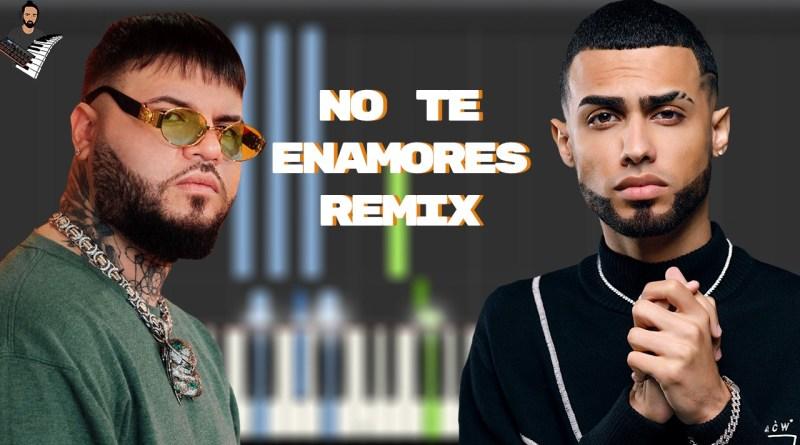 Milly Farruko Jay Wheeler Nio Garcia - No Te Enamores Remix