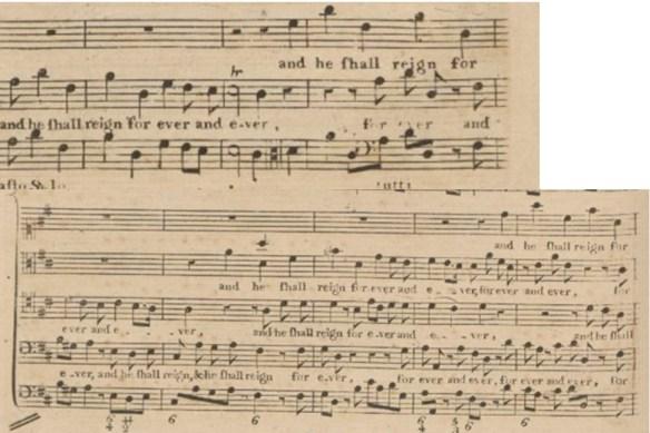 hallelujah chorus texture analysis