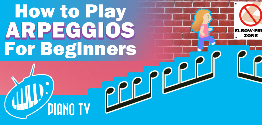 How to play arpeggios for beginners (Piano technique, 2