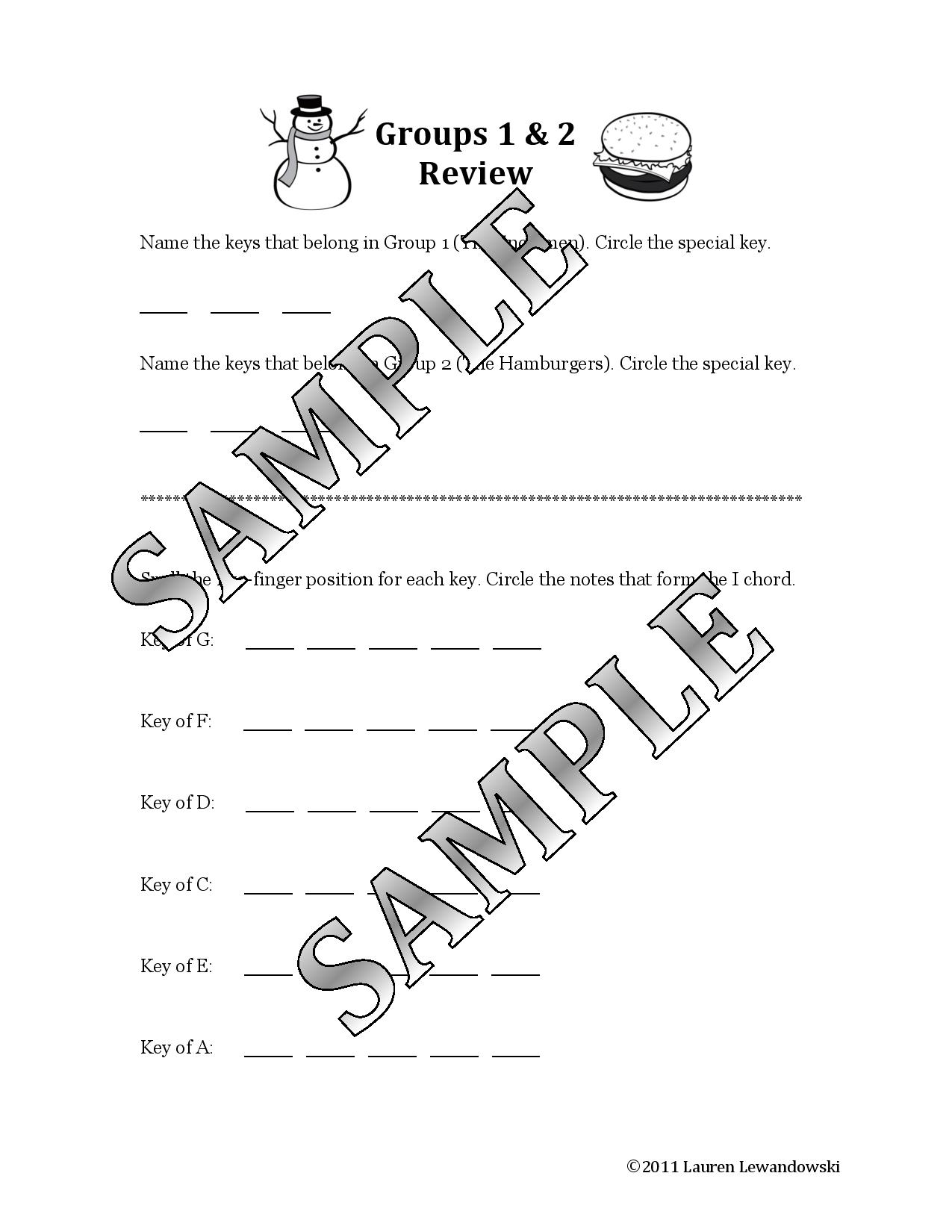 Multi Key Worksheets Download