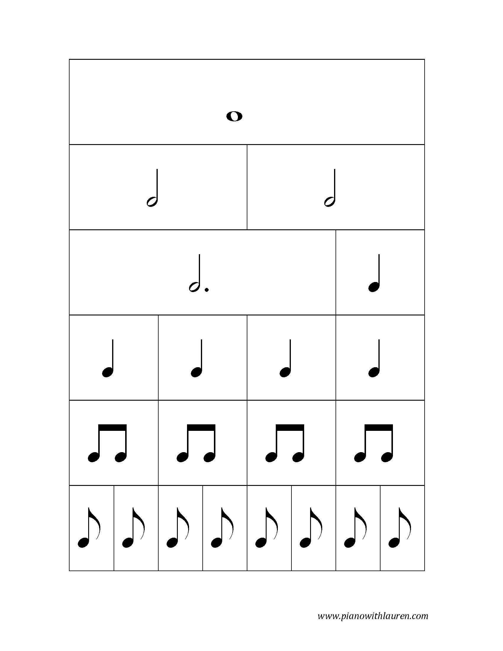 Note Values Sample