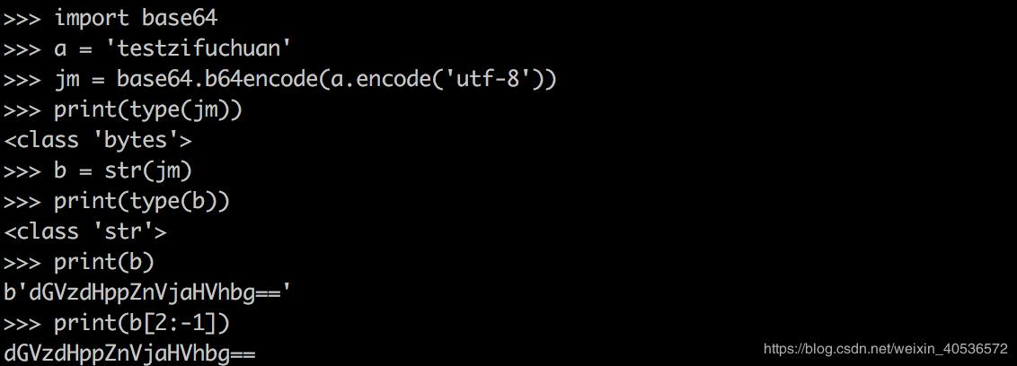 python3 base64加密 - 程序員大本營