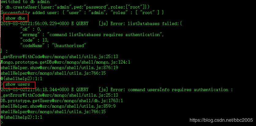 MongoDB連接與開啟用戶驗證 - 程序員大本營