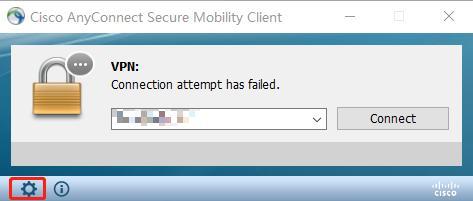 "Cisco AnyConnect客戶端報錯""Untrusted Server Blocked"