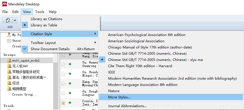 """如何解決Mendeley使用GB/T參考文獻格式時使用""""et al""""而非""""等""""來省略人名 - 程序員大本營"""