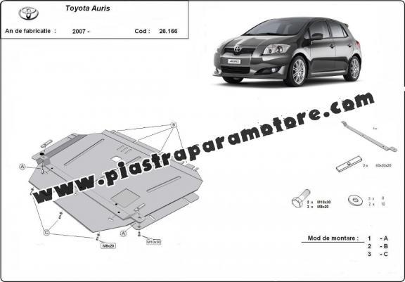 Piastra paramotore di acciaio Toyota Auris