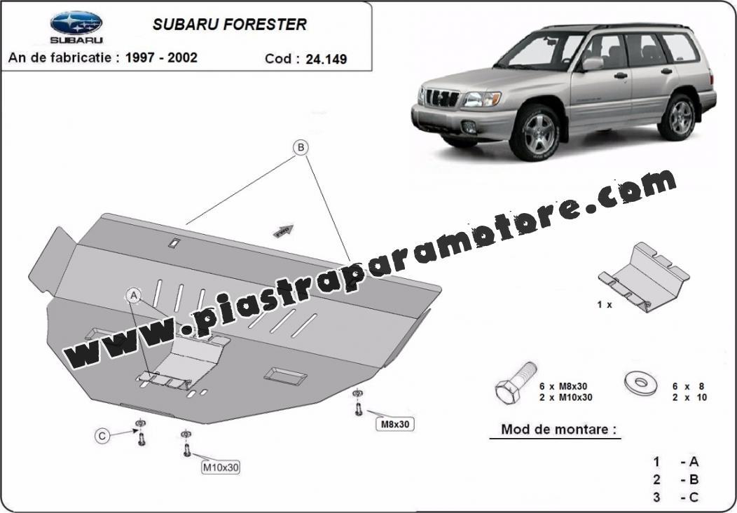 Piastra paramotore di acciaio Subaru Forester 1