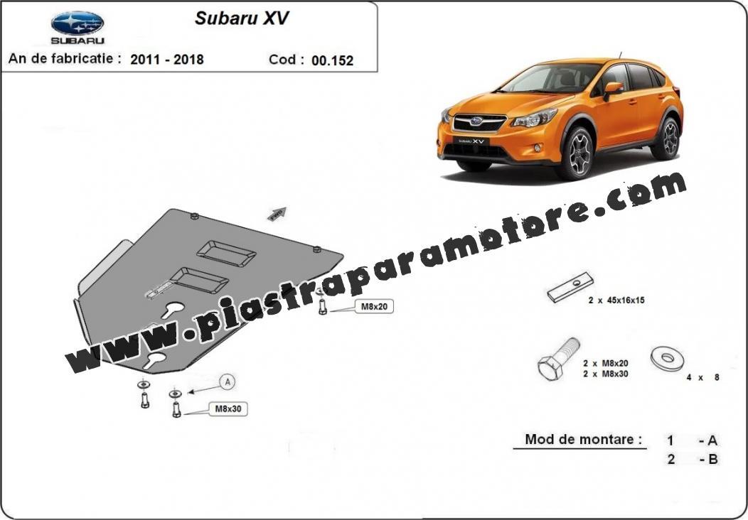 Protezione di acciaio per il cambio Subaru XV