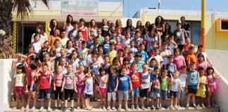 i bambini del doposcuola estivo