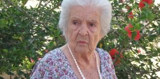 Anna Leganza 105 anni il 31.7.2013 parabita