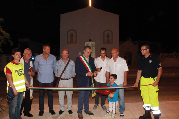 inaugurazione piazza Pilella