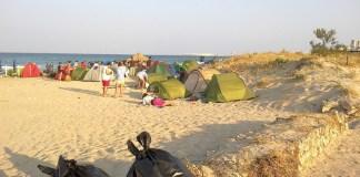spiagge e tende gallipoli