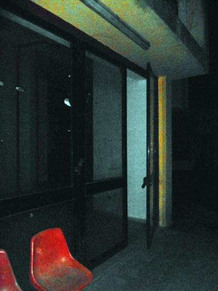 anche l'edificio interno, dov'è l'auditorium, rimane aperto di notte
