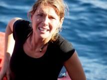 Ingrid Muccitelli la bionda conduttrice romana classe 1975