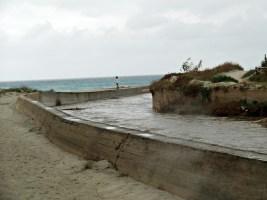 """GALLIPOLI - canale """"Li samari"""", sbocco in mare. Foto di redazione"""