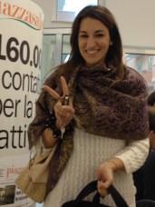 La nostra stagista Maria Antonietta Quintana, nonché corrispondente da Matino